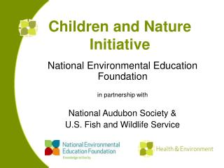 Kids and Nature Activity