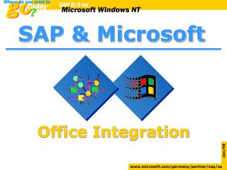 SAP and Microsoft