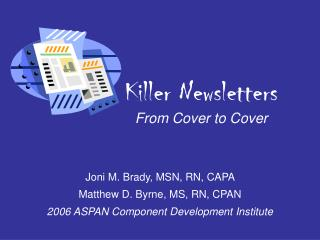 Executioner Bulletins From Spread to Cover