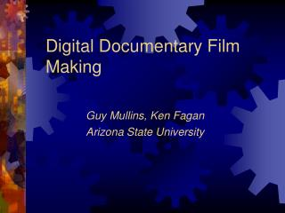 Computerized Narrative Film Making