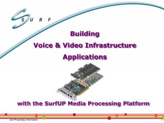 Building Voice and Video Foundation Applications