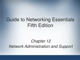 Manual for Systems administration Essentials Fifth Release