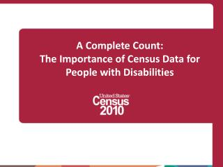 A Complete Tally: The Significance of Statistics Information for Individuals with Inabilities