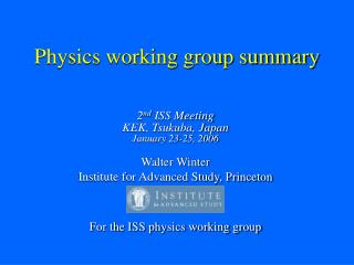 Material science working gathering rundown