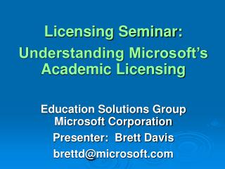 Permitting Class: Comprehension Microsoft's Scholarly Authorizing Training Arrangements Bunch Microsoft Organization Mod