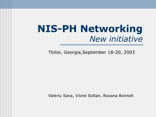 NIS-PH Organizing New activity