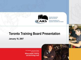 Toronto Preparing Board Presentation