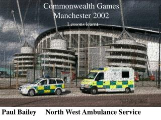 Paul Bailey North West Rescue vehicle Administration
