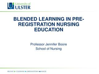 Mixed LEARNING IN PRE-Enlistment NURSING Instruction