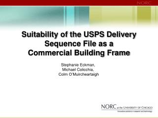 Suitability of the USPS Conveyance Arrangement Document as a Business Building Outline