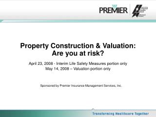 Property Development and Valuation: Would you say you are at danger?