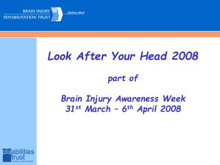 Take care of Your Head 2008 piece of Cerebrum Harm Mindfulness Week 31 st Walk