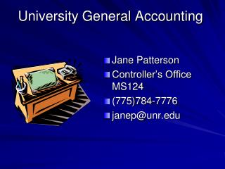 College General Bookkeeping