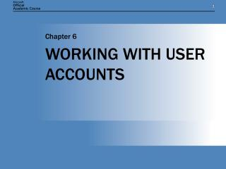 WORKING WITH Client ACCOUNTS