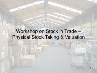 Workshop on Stock in Exchange