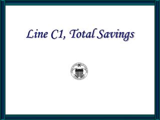 Line C1, All out Reserve funds