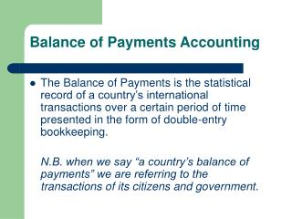 Equalization of Installments Bookkeeping