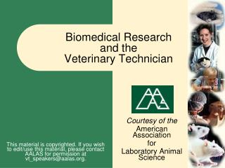 Biomedical Examination and the Veterinary Specialist