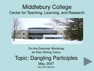 Middlebury School Community for Educating, Learning, and Research