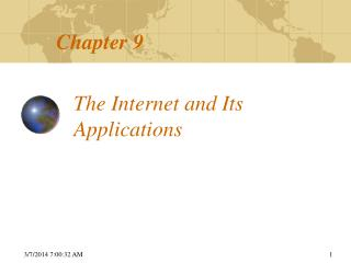 The Web and Its Applications