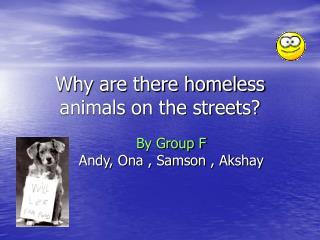 Why are there destitute creatures in the city?