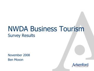 NWDA Business Tourism Study Results