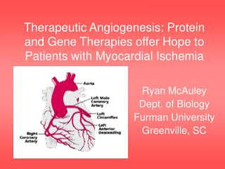 Remedial Angiogenesis: Protein and Quality Treatments offer Would like to Patients with Myocardial Ischemia