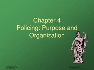 Section 4 Policing: Reason and Association