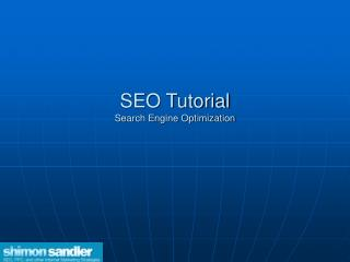 SEO Instructional exercise Site design improvement