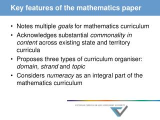 Key elements of the arithmetic paper