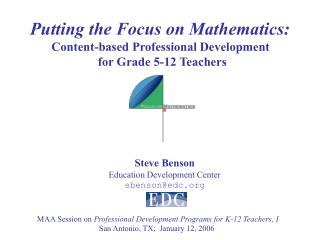 Putting the Emphasis on Arithmetic: Content-based Proficient Improvement for Evaluation 5-12 Educators