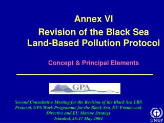 Attach VI Amendment of the Dark Ocean Land-Based Contamination Convention Idea and Foremost Components