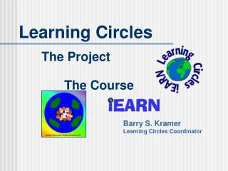 Learning Circles 		The Venture 			The Course