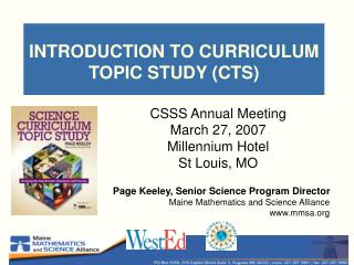 Prologue TO Educational modules Subject STUDY (CTS)