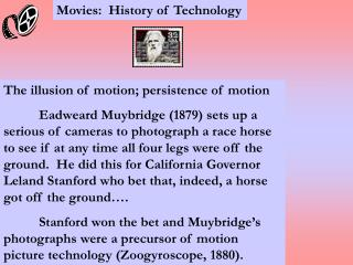 Motion pictures: History of Innovation