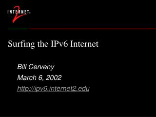 Surfing the IPv6 Web