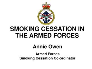 SMOKING Discontinuance IN THE Military