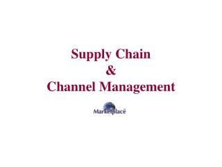 Store network and Channel Administration