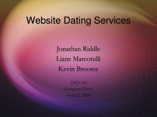 Site Dating Administrations