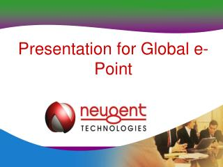 Presentation for Worldwide e-Point
