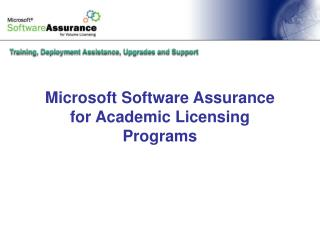 Microsoft Programming Confirmation for Scholarly Permitting Programs