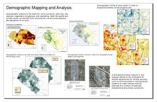 Demographic Mapping and Investigation
