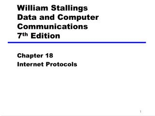 William Stallings Information and PC Interchanges 7 th Version