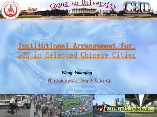Institutional Game plan for sexually transmitted disease in Chose Chinese Urban communities