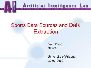 Sports Information Sources and D ata E xtraction
