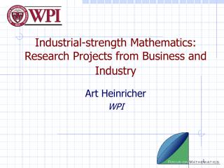 Modern quality Arithmetic: Research Ventures from Business and Industry