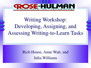Composing Workshop: Creating, Doling out, and Surveying Composing to-Learn Assignments