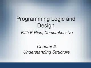 Programming Rationale and Outline Fifth Version, Exhaustive