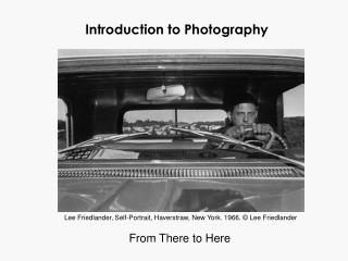 Prologue to Photography