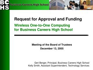 Demand for Endorsement and Subsidizing Remote Balanced Registering for Business Vocations Secondary School